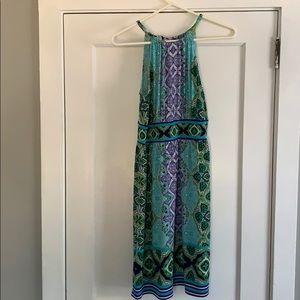 London style collection midi dress